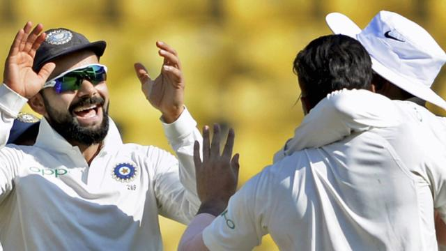 India Beat Sri Lanka In Second Test