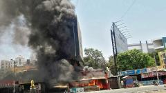 Fire breaks out at restaurant in Tathawade