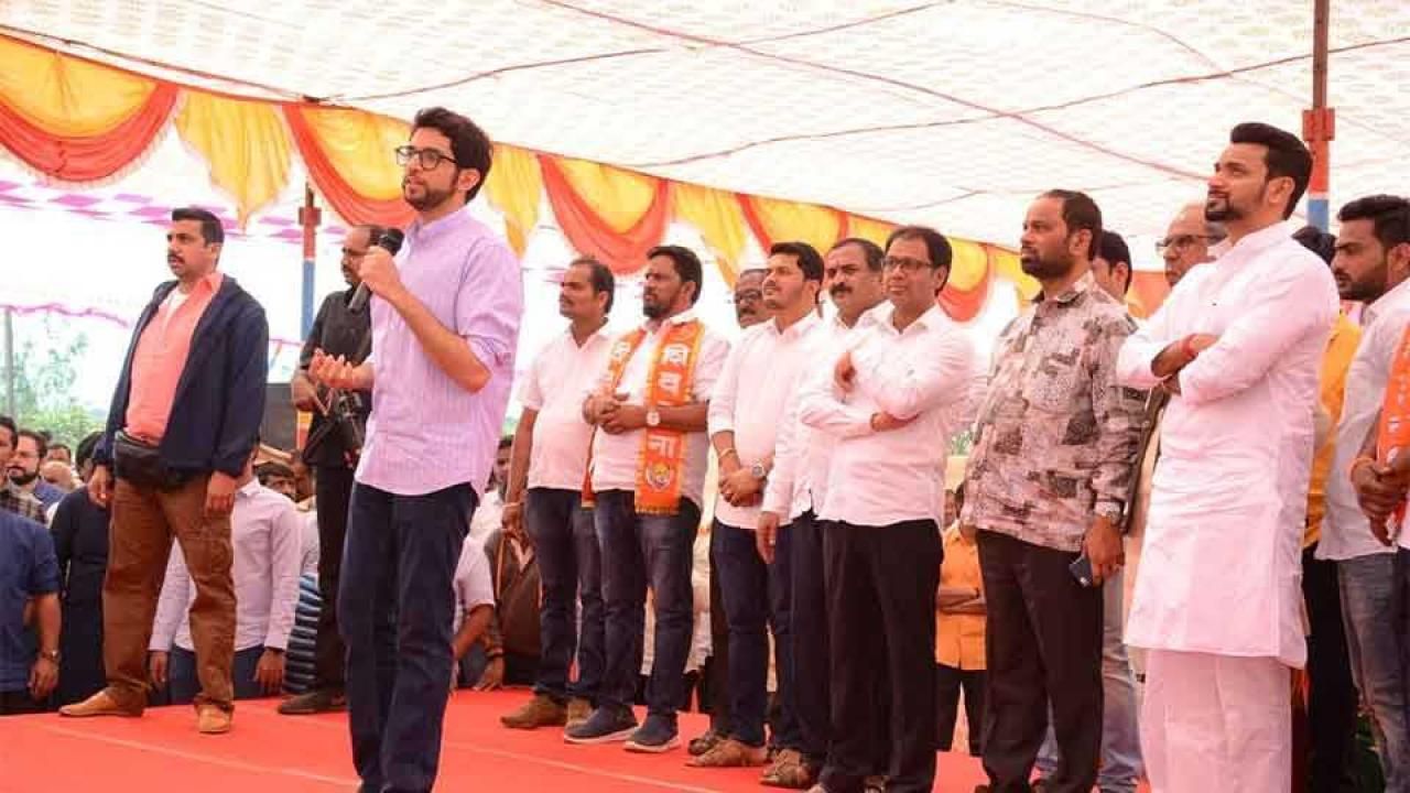 aaditya thakarey,sarud sabha