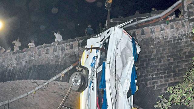Minidoor accident, Kolhapur , Maharashtra,