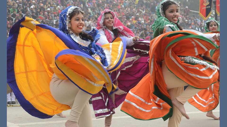 Republic Day Parade 2018, दिल्लीतील राजपथावरी संचलन, Republic day, Republic Day Parade, Delhi, India