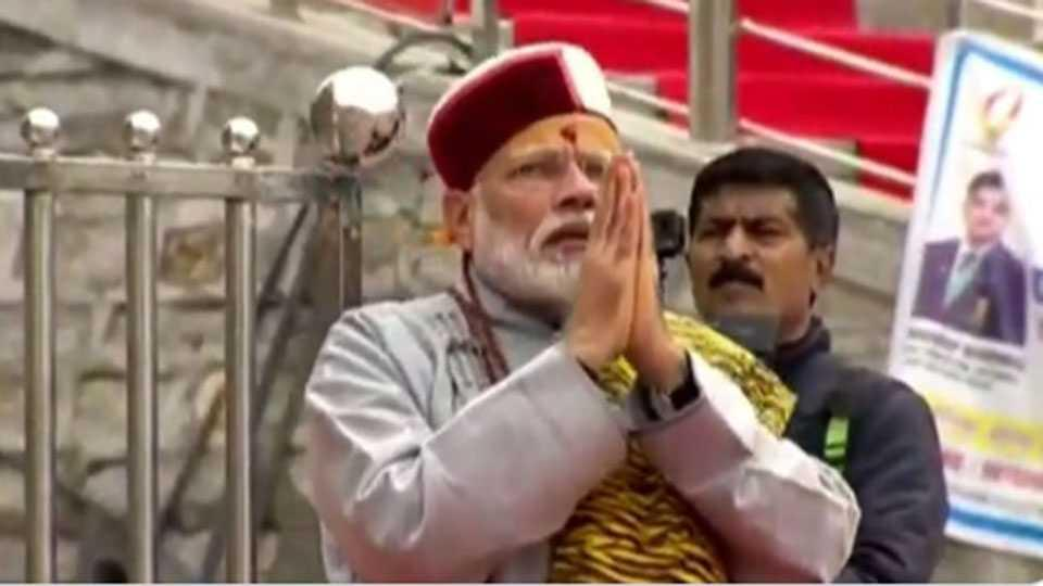 modi, prime minister goes kedarnath