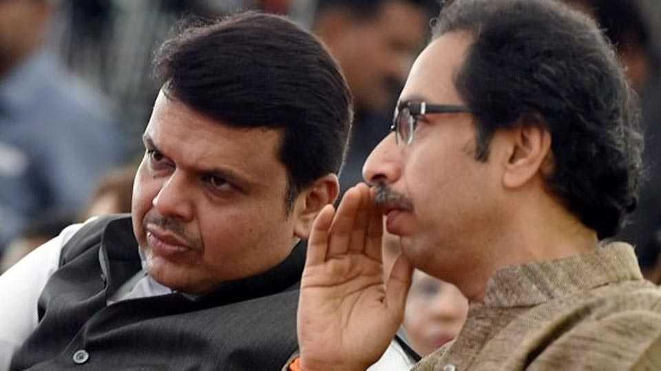 bjp, shivsena, alliance of bjp and sena , maharashtra ,