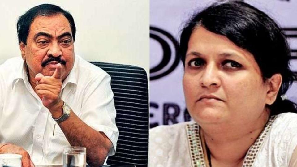 Anjali Damania, Maharashtra, Politics, Eknath Khadse