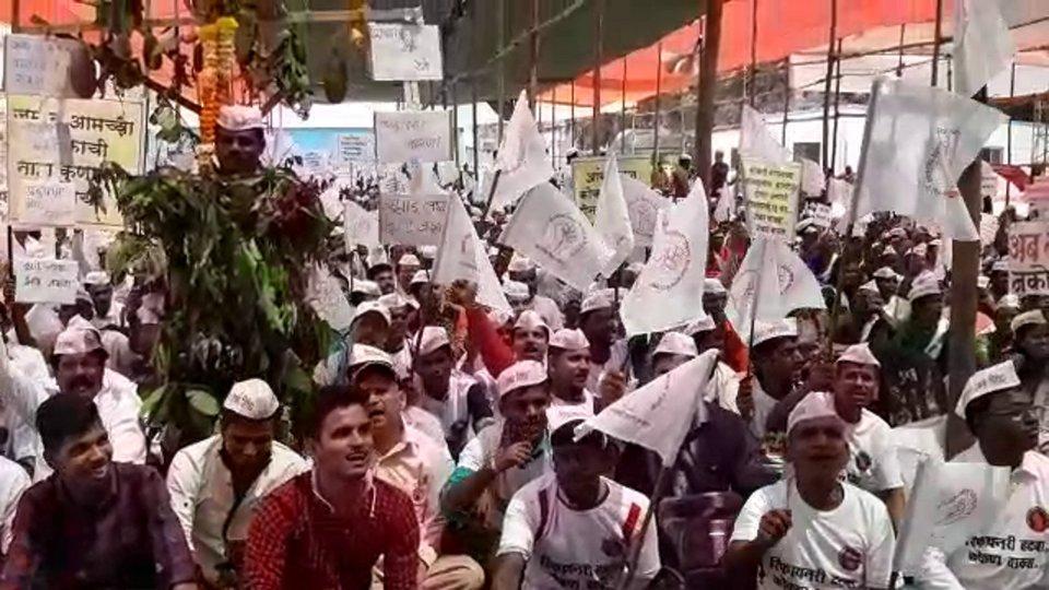 nanar protest, azad maidan,