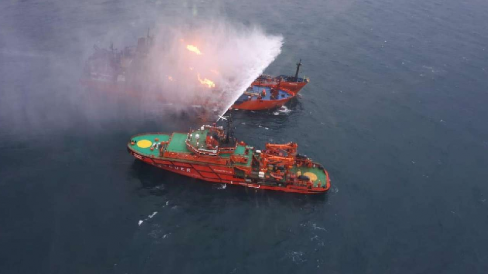 ship, russia, oil transporting ship
