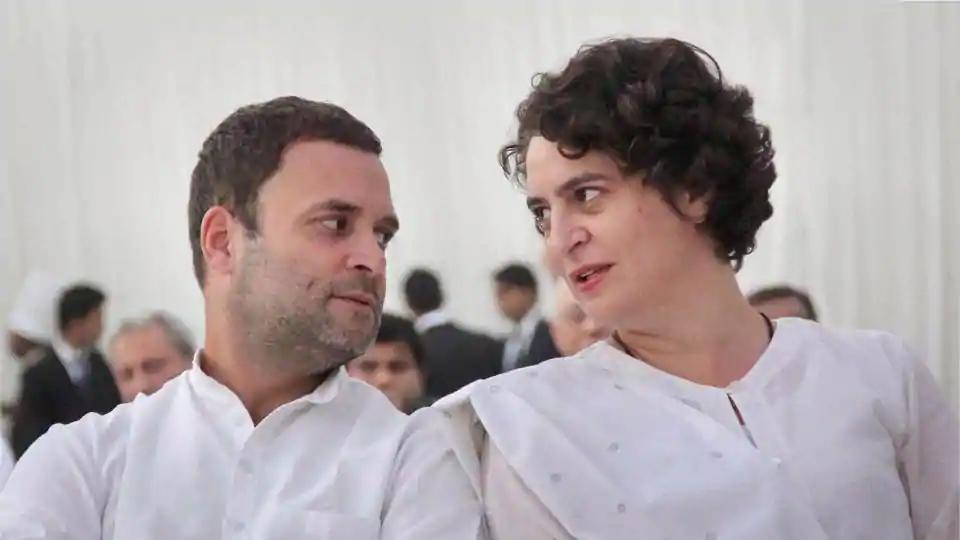rahul gandhi, priyanka gandhi, congress