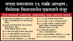 maratha reservation, maharashtra , info graphics