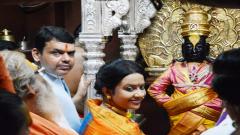 Devendra Fadnavis, Pandharpur