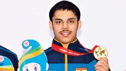 Vijayveer Sidhu wins third gold medal