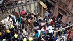 Confusion prevails over ownership of collapsed building