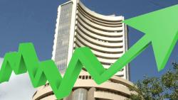Sensex rises by 160 pts on Infy shot, macro data