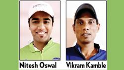 Vikram Kamble, Nitesh Oswal star on Day 2