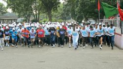 DGQA hosts 'mini run' to celebrate Diamond Jubilee