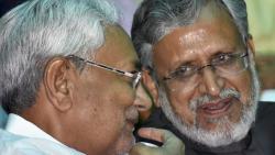 Bihar CM, Deputy CM tie rakhis to trees