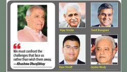 Dhunjibhoy & team banking on positives