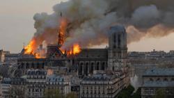 Macron vows to rebuild Notre-Dame after devastating fire