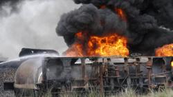 2 wagons of goods train catch fire in Maha, rail services hit