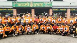 Over 500 cyclists take part in Pune-Pandharpur rally