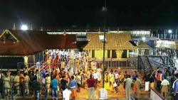 Calm atmosphere in Sabarimala on 2nd day of pilgrimage season