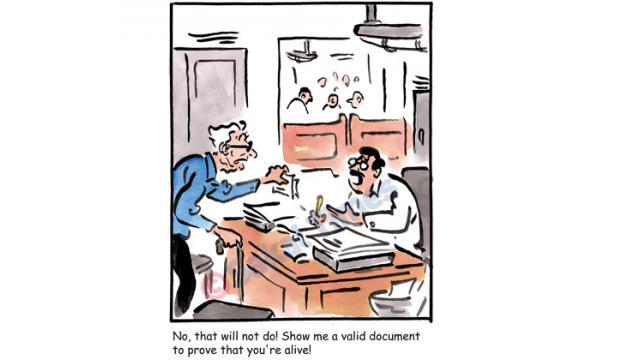 Flip Side cartoon