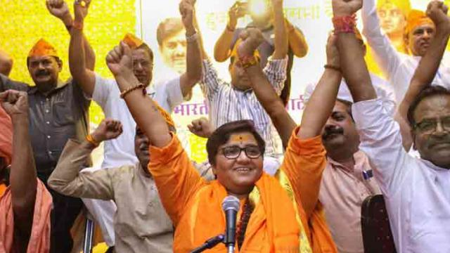 Pragya's remarks on Karkare insulting