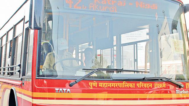 Man arrested for assaulting PMPML bus driver