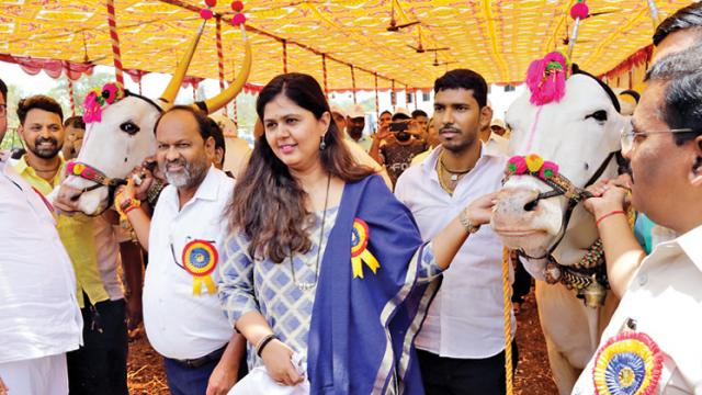Animals should be given to farmers, says Munde