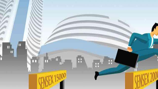 Sensex jumps 267 pts tracking global cues