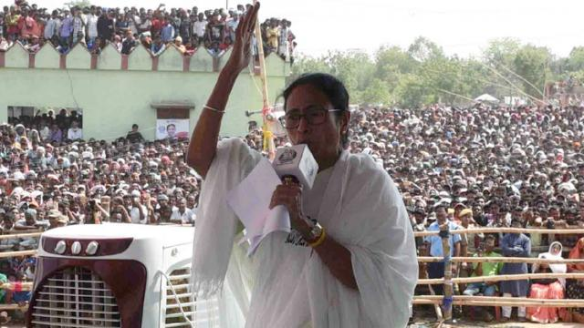 LokSabha 2019: Modi failed to give 'laddoo' to West Bengal, now BJP will get 'rosogolla': Mamata Banerjee