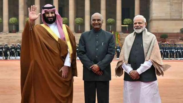PM Modi, Saudi Crown Prince hold talks to expand ties