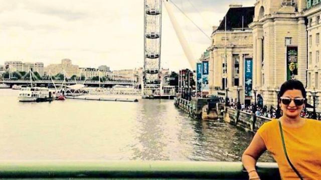 Krupa Shah at London Eye