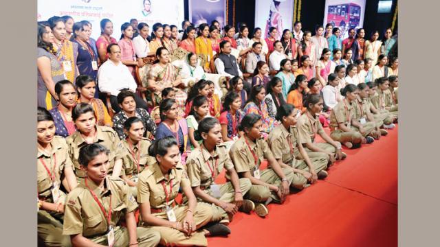 Women Drivers Training Programme was inaugurated by ex-president Pratibha Patil. State Transport Minister Diwakar Raote, Deputy Speaker of the Legislative Assembly Dr Neelam Gorhe and MSRTC MD Ranjitsinh Deol  were also present at Balgandharva Auditorium