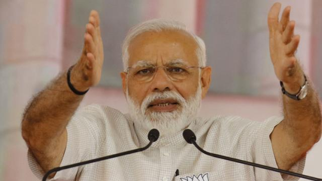 LokSabha 2019: We took bold steps to counter terror, Cong response timid: PM
