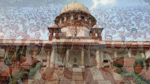 Distressed farmers knock Supreme Court's doors for relief