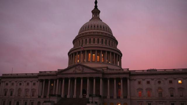 US Capitol in Washington, DC.