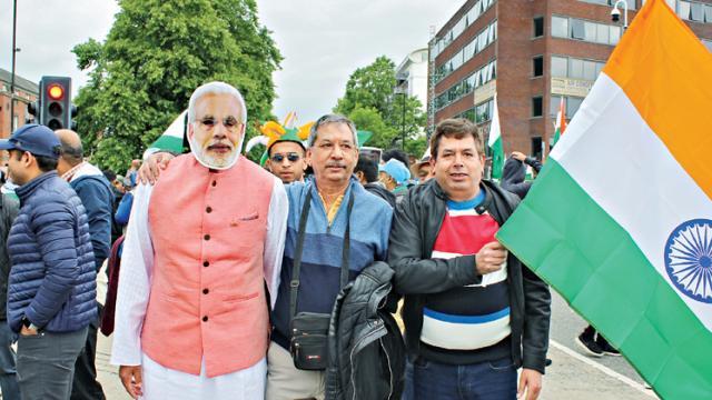 Modi masks banned inside stadiums