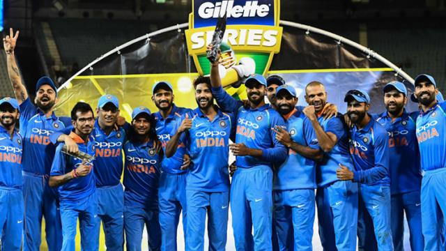 Standing tall Down Under: Dhoni anchors, Kedar finishes as India win ODI series