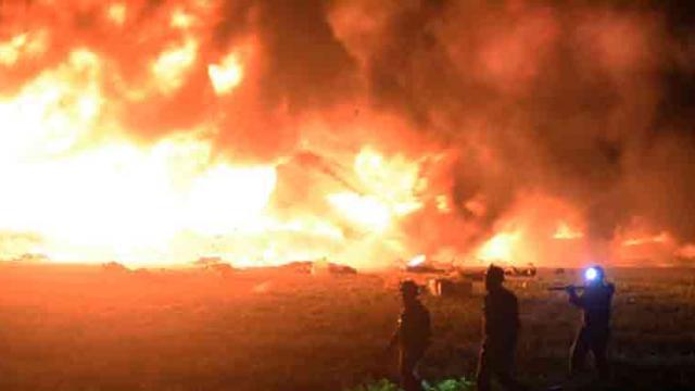 Fuel pipeline blaze in Mexico kills at least 73