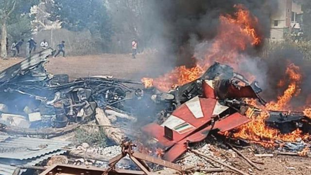 1 pilot dead as 2 IAF aircraft collide, crash in Bengaluru