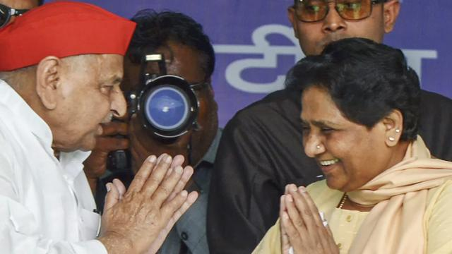 LokSabha 2019: Mulayam, Mayawati share stage after decades, praise each other
