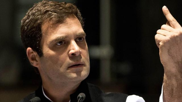 Intolerance, unemployment key issues facing India:Rahul Gandhi