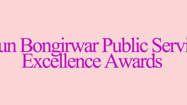 An honour for public servants in the State