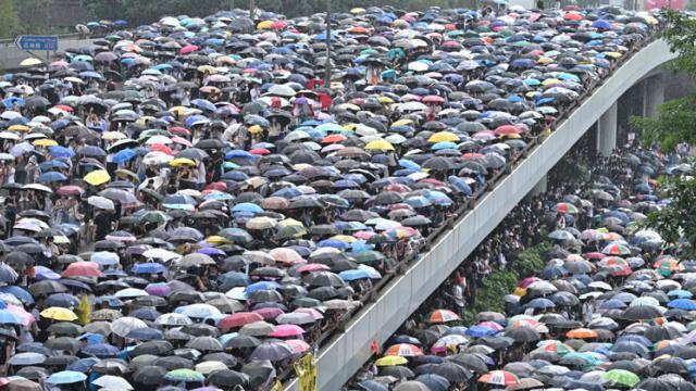 Hong Kongers show world what true movement is