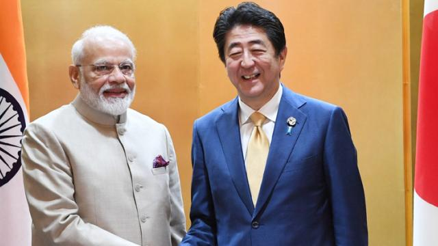 Modi, Abe discuss global economy, fugitive economic offenders, disaster management
