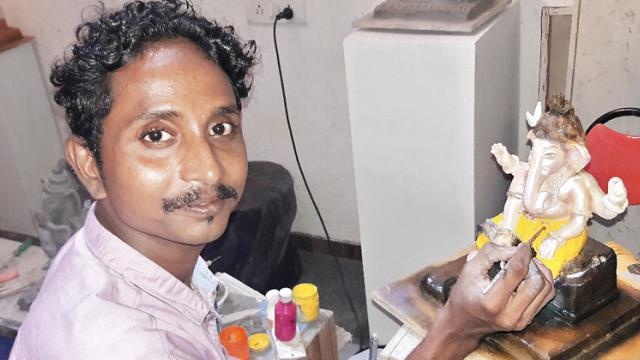 Anil Dingankar at work