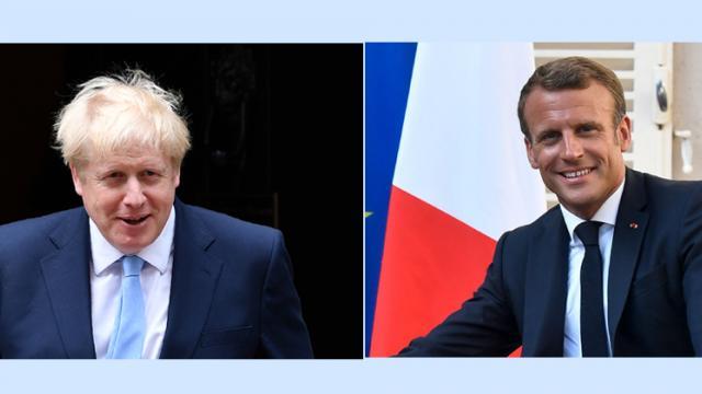 Macron, Johnson set for bruising Brexit talks in Paris