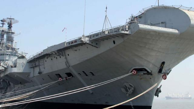 Maha wants to preserve decommissioned carrier: Navy official