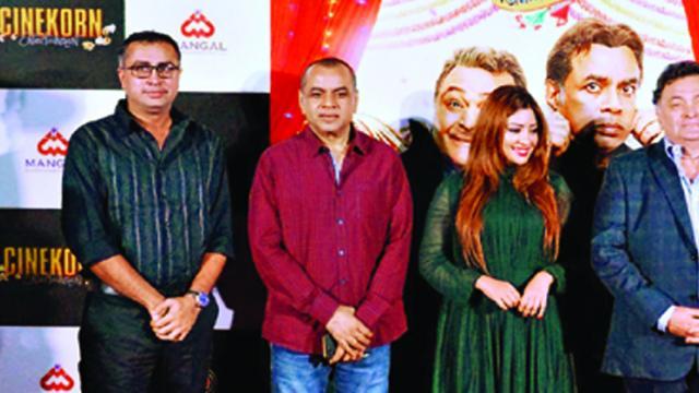 (l-r) Kalapi Nagada, Paresh Rawal, Payal Ghosh and Rishi Kapoor