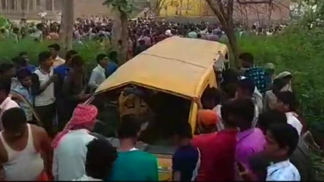 13 school children killed in UP accident